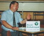 """Janusz Z Sawicki """"Wyborców trudne pytania..."""" (2004-04-13 20:43:44) komentarzy: 6, ostatni: Nie podoba mi sie swiatlo flesza z palnikem skierowanym na wprost...:)"""