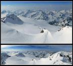 """rcozas """"Panorama z Wildspitze"""" (2005-04-19 13:16:23) komentarzy: 24, ostatni: ładnie zrobione"""