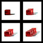 """Wyso_ """"Cube"""" (2007-02-25 23:34:08) komentarzy: 31, ostatni: szkoda ze ten pojedynczy nie ma takowego kolorku jak pozostale, podoba mi sie takie ułozenie stopniowe 1 2 3 4 :) na tym ostatnim ostrosc sie fajnie rozlozyla, hmmm te chyba najbardziej podoba mi sie z serii-oczywiscie cala jak najbardziej na tak..."""
