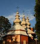 """damk """"Cerkiew w Mochnaczce Niżnej"""" (2007-08-19 20:09:50) komentarzy: 15, ostatni: jak trzy dostojne gracje skąpane w promieniach zachodzącego słońca ;o)"""