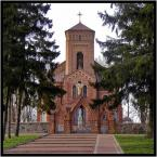 """Andres42 """"Kościół pw  św. Michala Archanioła w Jabłonce Kościelnej"""" (2008-05-02 13:42:14) komentarzy: 1, ostatni: piękny kościół, warto też zerknąć na cmentarz są tam pochowi księża bodajże od XVIII wieku, podoba mi się harmonia tego zdjęcia"""
