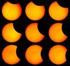 """Michal Bosek """"Zaćmienie słońca 1.VIII.2008-Rzeszów"""" (2008-08-01 15:47:26) komentarzy: 23, ostatni: PacMan z Pegasusa :-)"""