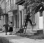 """Slawekol """"Miasteczko..."""" (2009-04-18 20:19:20) komentarzy: 19, ostatni: A jeśli o film chodzi, to kręcone były tam sceny do filmu """"Smażalnia story"""" bodajże, na rynku również... Madame Bovary=>powiat był w Mońkach, a w Goniądzu to tylko gmina."""