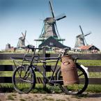 """slavcic """"Zaanse Schans"""" (2009-09-01 09:40:08) komentarzy: 42, ostatni: rowery i wiatraki widać ze Holandia ;D"""