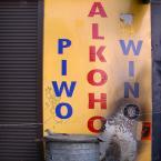 """miastokielce """"ul. S.Toporowskiego Kielce"""" (2010-10-29 11:48:09) komentarzy: 4, ostatni: Zainspirowałeś mnie :-). Przyszedł mi do głowy taki mniej więcej początek opowiadania: Stał i bezmyślnym wzrokiem wodził po literach tworzących napis ELOHOKLA. Znów go przez pomyłkę zamknęli na noc w monopolowym... ;-). p-m."""