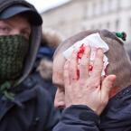 """Wojciech K """"Na manifie"""" (2010-11-11 17:50:14) komentarzy: 11, ostatni: +++/"""