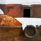 """macieknowak """"Wrak zimą"""" (2010-12-11 19:02:41) komentarzy: 3, ostatni: odsłona zimowa magiczna, dobrze biel działa :)"""