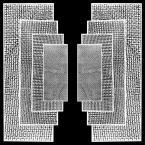 """ABL """"#01"""" (2011-05-07 22:15:52) komentarzy: 4, ostatni: Dzięki, stare czasy temat: """"Przenikanie bieli z czernią"""". Projekt był realizaowany w formie grafiki w wielu wariantach a następnie instalacji przestrzennej."""