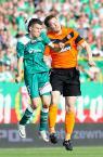 """Dawid Gaszyński """"Śląsk vs Dundee United"""" (2011-07-24 11:51:54) komentarzy: 1, ostatni: podskoki parami:)"""