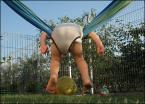"""Miras40 """"leci ... !"""" (2011-08-21 14:24:02) komentarzy: 19, ostatni: Szymko wymyslił sobie inne bujanie na hamaku ... :-)"""