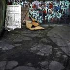 """Nickita """"Kolory of Katowice"""" (2012-03-25 22:12:24) komentarzy: 1, ostatni: Rowerem po drzwiach. Trochę jeszcze tego naznosić i skatepark można by stworzyć :)"""