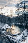 """scottbiker """"Zimowe widoki"""" (2013-02-19 19:39:28) komentarzy: 2, ostatni: @PawełP - no ja jeszcze dziś w tej rzece pływałem :)"""