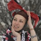 """asiasido """"Karin"""" (2013-03-27 10:24:17) komentarzy: 12, ostatni: Radek, głowę ? :))) nie, nie udało się :))) kokardę odwiązała i będą jeszcze bez kokardy :)"""