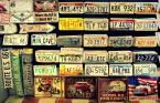 """klishka """"stany"""" (2014-11-15 13:37:18) komentarzy: 4, ostatni: dzięki za komentarze!  Wojciech K. to nie magnesy,to reprodukcje starych tablic rejestracyjnych (tak to przynajmniej wyglądało),służyły jako wystawa w pewnym sklepie z pamiątkami :)"""