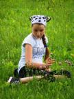"""Maciek Froński """"Rusałka"""" (2015-01-15 09:26:55) komentarzy: 2, ostatni: A mi podoba się radośnie spi...... fota. Co tam twarz, ważne że zieleń jest i kwiatki"""