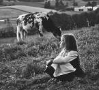 """valmont64 """"wiejskie wakacje"""" (2015-09-03 20:04:34) komentarzy: 18, ostatni: fajnie krówka całuje ją w czółko :)"""