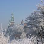 """Wojtek K. """"...takie moje krakowskie... zima pod Wawelem."""" (2016-12-11 11:33:10) komentarzy: 5, ostatni: ładnie :)"""