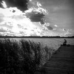 """Grzegorz Pawlak """"Grabniak - jezioro Rotcze"""" (2017-07-09 18:05:09) komentarzy: 2, ostatni: tak w ogóle słaby kadr, poza tym góra za jasna, dół za ciemny"""