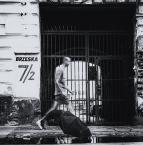 """macieknowak """"Ciemna brama"""" (2017-08-09 21:38:09) komentarzy: 3, ostatni: Ciemna brama, czarny parasol... Jeszcze czarny kot przydałby się. Albo czarna Wołga."""